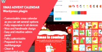 Advent xmas plugin wordpress calendar