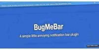 A bugmebar simple plugin notification little