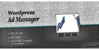 Ad wordpress manager