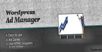 Ad wordpress manager