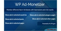 Ad wp monetizer