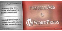 Ads interstitial for wordpress