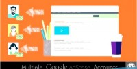 Adsense multiple wordpress for accounts