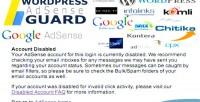 Adsense wordpress guard