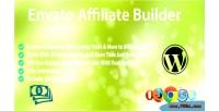 Affiliate envato builder