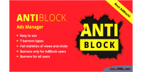 Antiblock ads manager beat wordpress with adblock