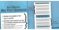 Automatic autopupo ads plugin generator post
