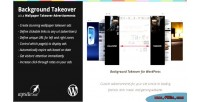 Background wp takeover advertisements