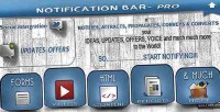 Bar notification plugin