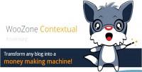 Contextual woozone plugin advertising amazon