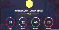 Countdown timer pro wordpress plugin for offers products events countdown