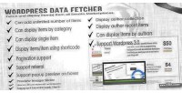 Data wordpress plugin wp fetcher
