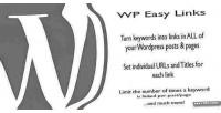 Easy wp links