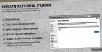 Envato automatic referral plugin wordpress url