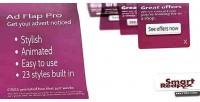 Flap advert pro wordpress