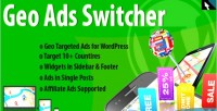 Geo ads switcher plugin ads targeted geo