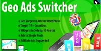 Geo ads switcher plugin ads targeted geo