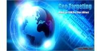 Geo targeting addon for sam pro edition free