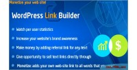 Link wordpress builder