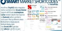 Market smart shortcodes