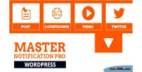 Master notification pro responsive notification bar wordpress for plugin