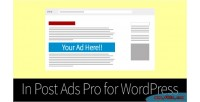 Post in ads wordpress for pro
