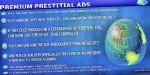 Prestitial premium ads