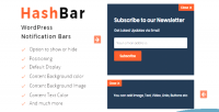 Pro hashbar bar notification wordpress