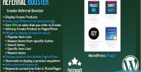 Referral envato plugin affiliate booster