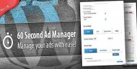 Second 60 ad manager