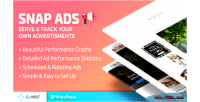 Snap ads serve track advertisements own your