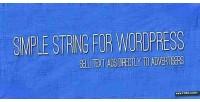 String simple