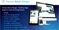 Themerex banner wp plugin manage & create