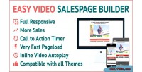 Video easy salespage builder