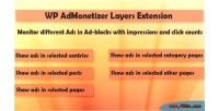 Wp layers extension pro admonetizer