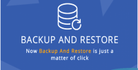 And backup restore