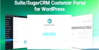 And sugarcrm suitecrm wordpress customer for portal
