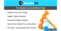 Auction wordpress plugin