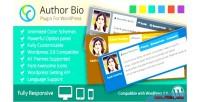 Author bio wp plugin responsive use multi author