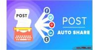 Auto post share
