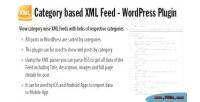 Based category plugin feed xml