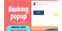 Booking wp popup