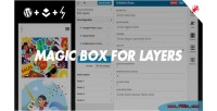 Box magic customization layers for pack
