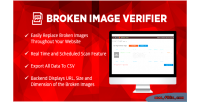 Broken wordpress image verifier