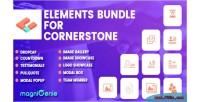 Bundle elements for cornerstone