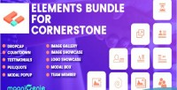 Bundle elements for cornerstone