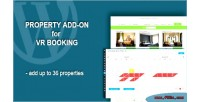 Add property on booking vr for