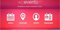 An eventsnet events plugin wordpress management