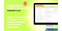 And congress event plugin wordpress manager
