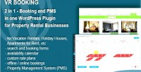 Booking 2 in 1 booking & pms in one wp plugin for businesse rental property booking